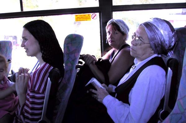 Ladies on Bus