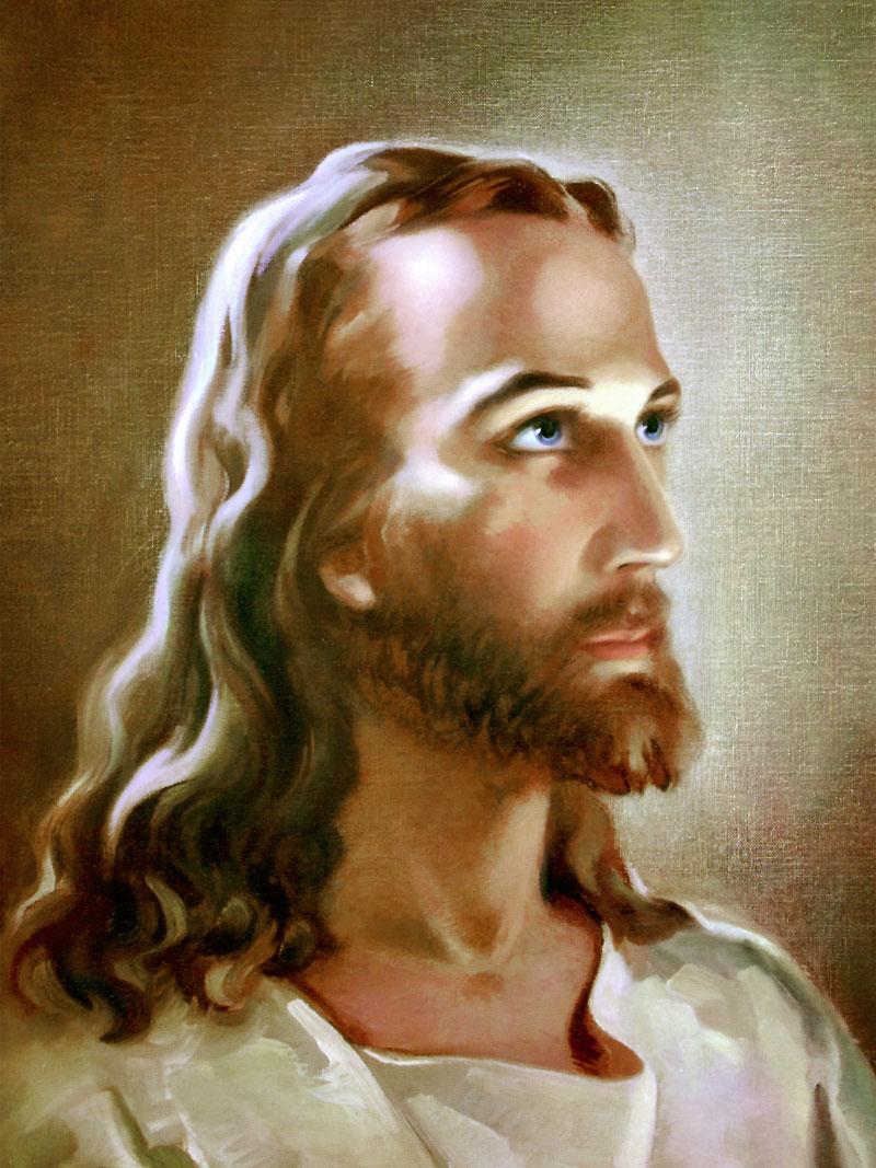 blue eyed Jesus