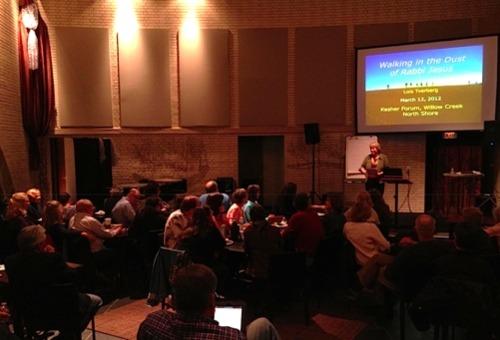 Speaking at Willow Creek - Mar 2012 sml