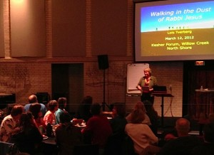 Speaking at Willow Creek - Mar 2012 tight