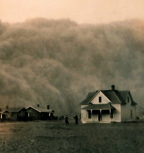 Dust Storm Coming