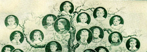 family tree - children
