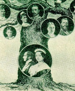 family tree trunk