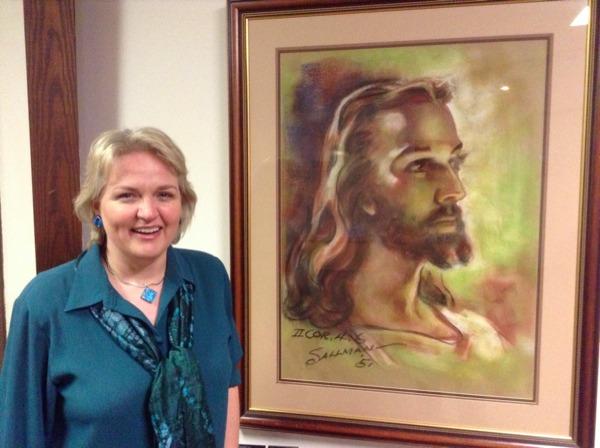 Lois & Sallman's Jesus sml