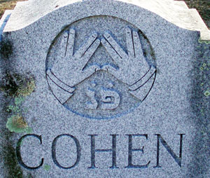 Cohen Grave Stone