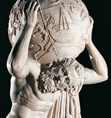 Atlas Holds World
