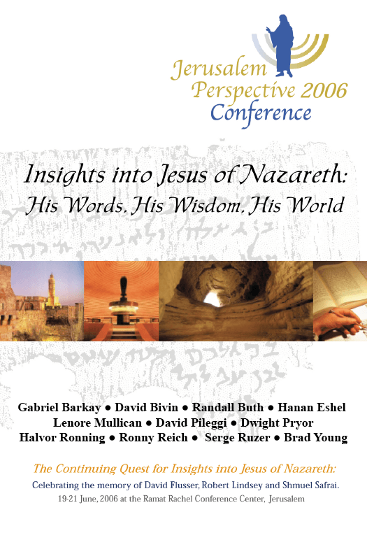 Seminar: Insights into Jesus of Nazareth