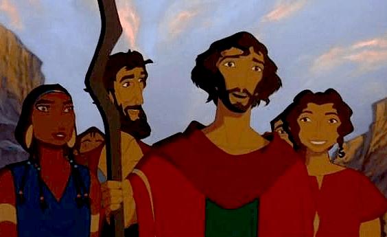 Zipporah, Aaron, Moses & Miriam