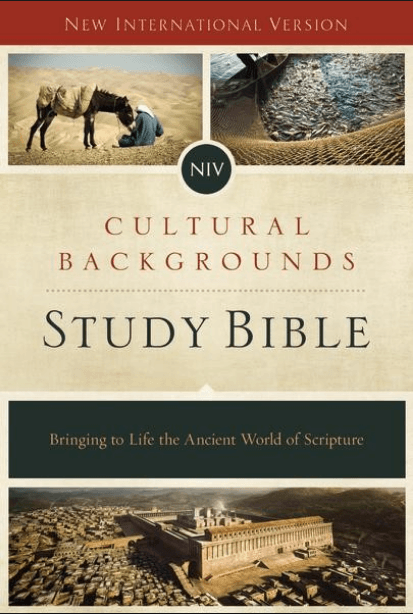 New Resource: The Cultural Backgrounds Study Bible