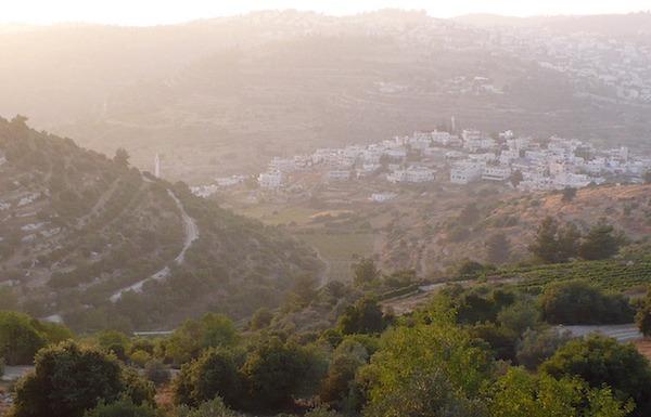 Judean hillside
