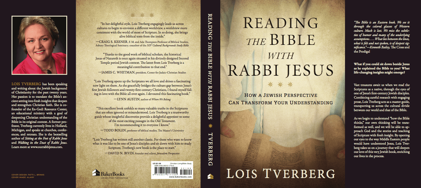 Dust Jacket for Reading the Bible with Rabbi Jesus