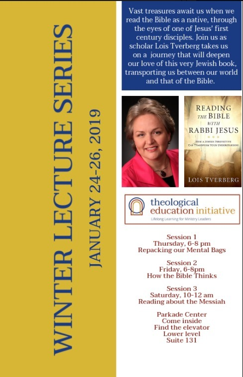 Winter Lecture Series in Columbia, MO, January 24-26, 2019